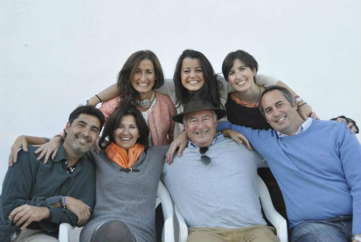 Miembros de la empresa familiar Aguilar Segura