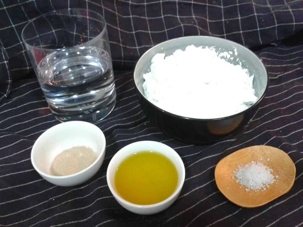 Ingredientes receta Pan sin gluten