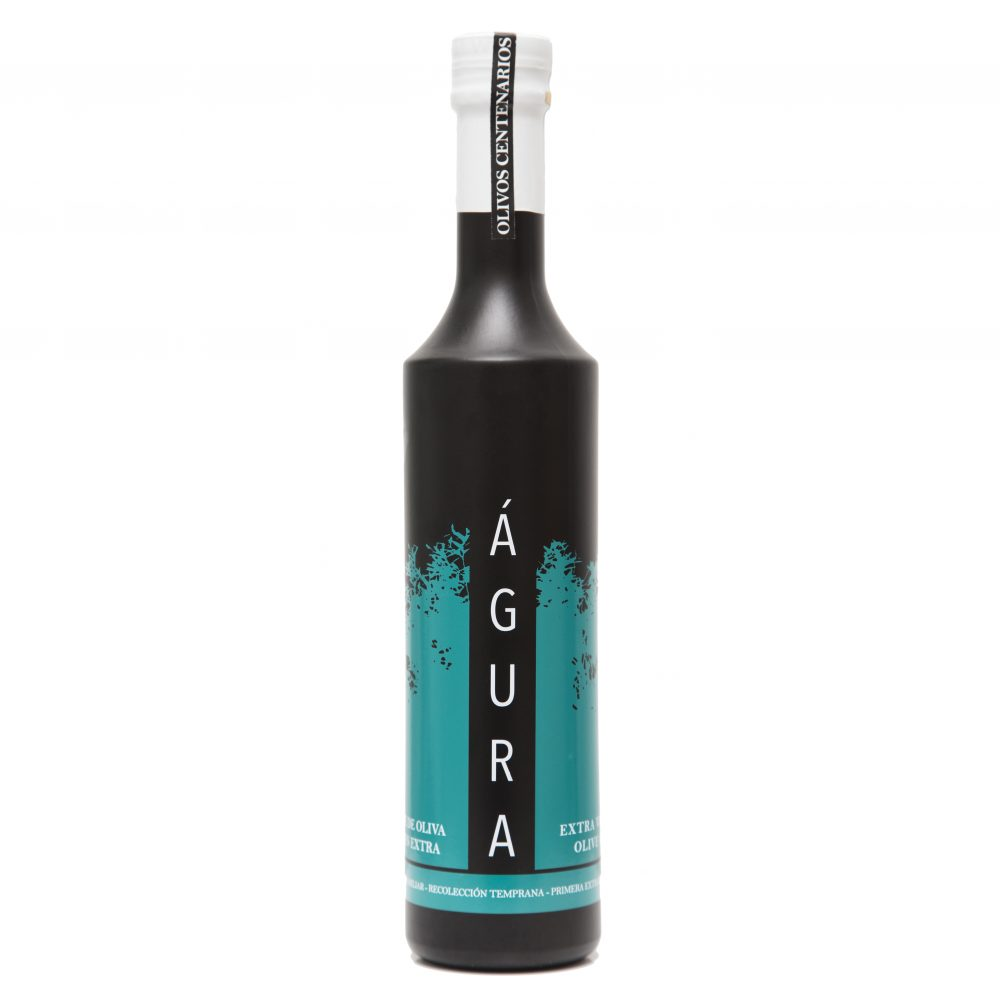 Botella de aceite gourmet
