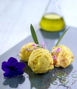 helado de aceite aove