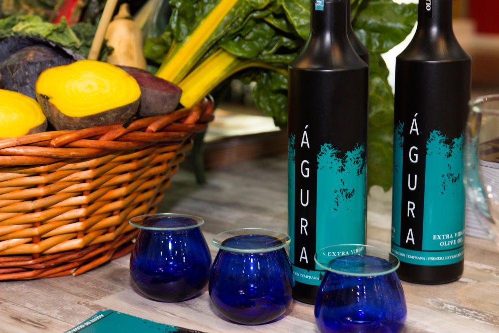 vasos de cata de aceite de oliva