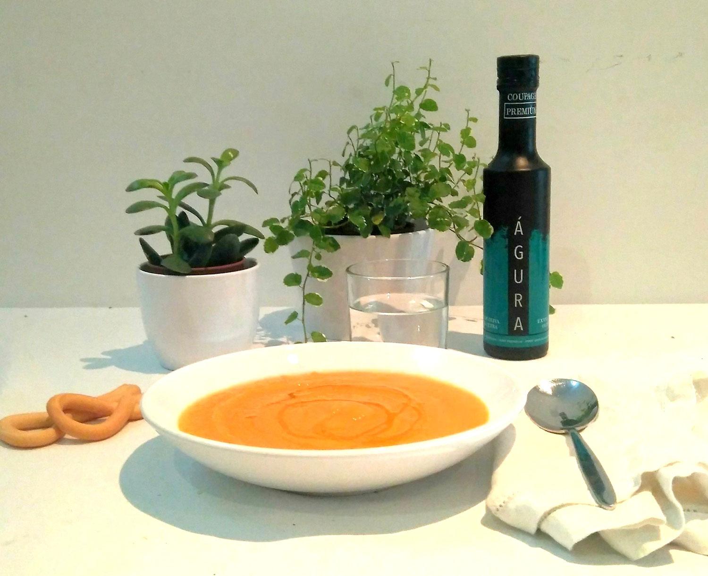 receta crema de calabaza thermomix