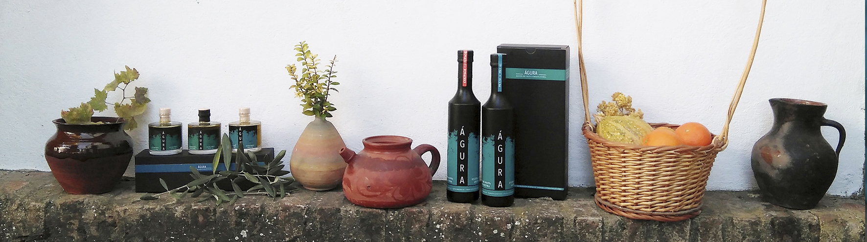 Estuches de regalo de Aceite de oliva virgen extra Premium águra