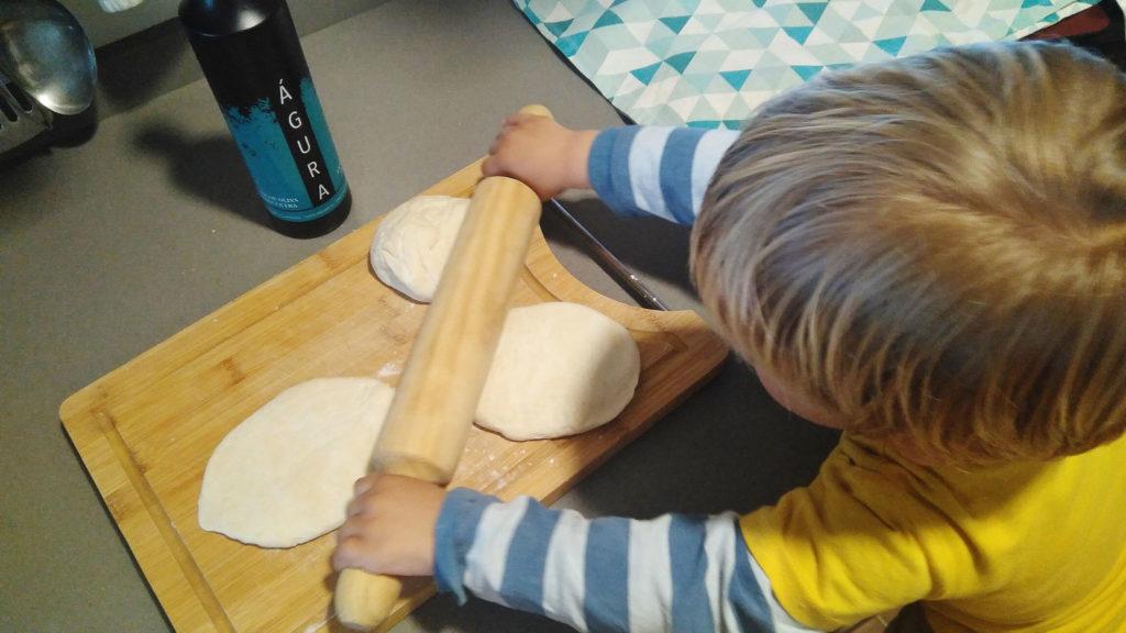 como hacer pan casero con aove