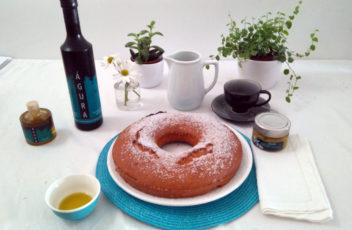 bizcocho con aceite de oliva