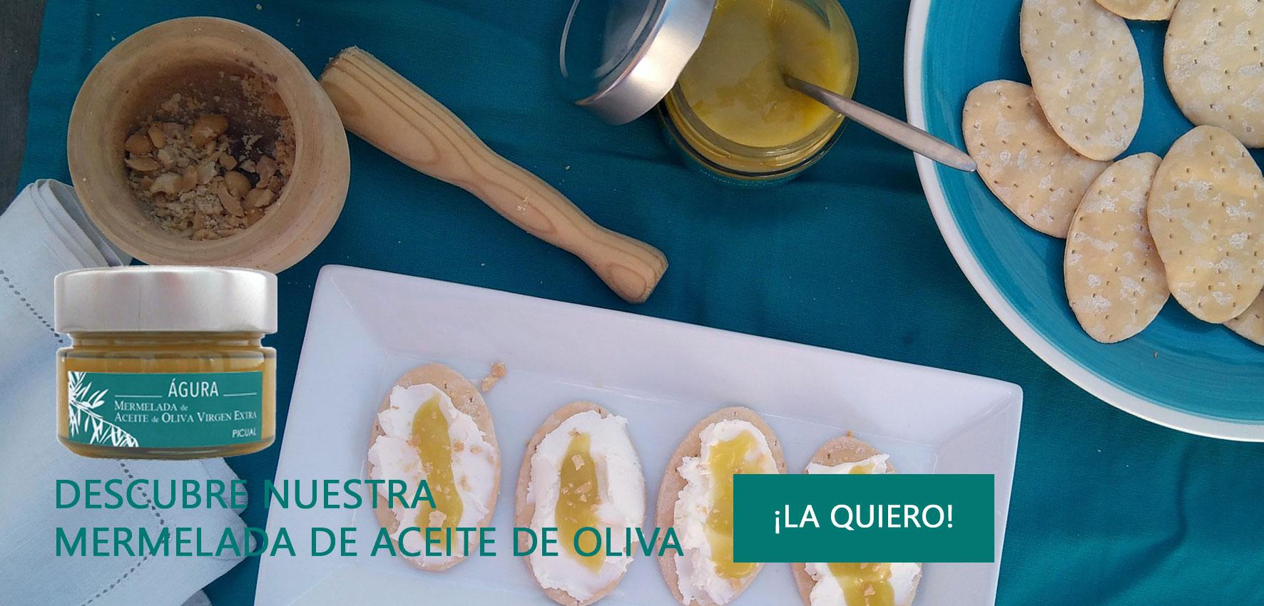mermelada aceite de oliva virgen extra agura